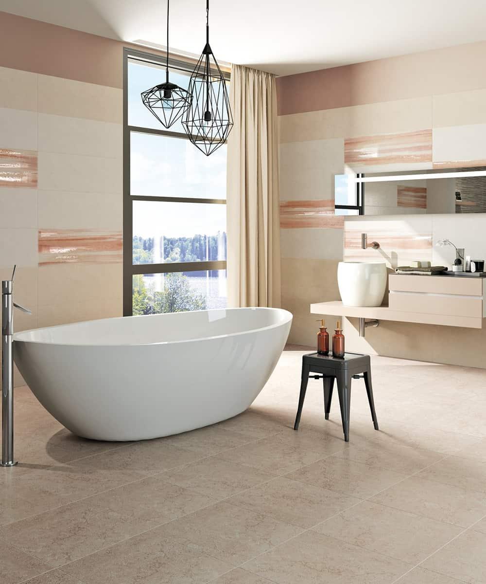 Interesting piastrelle per il bagno idee e collezioni per - Design bagno piastrelle ...