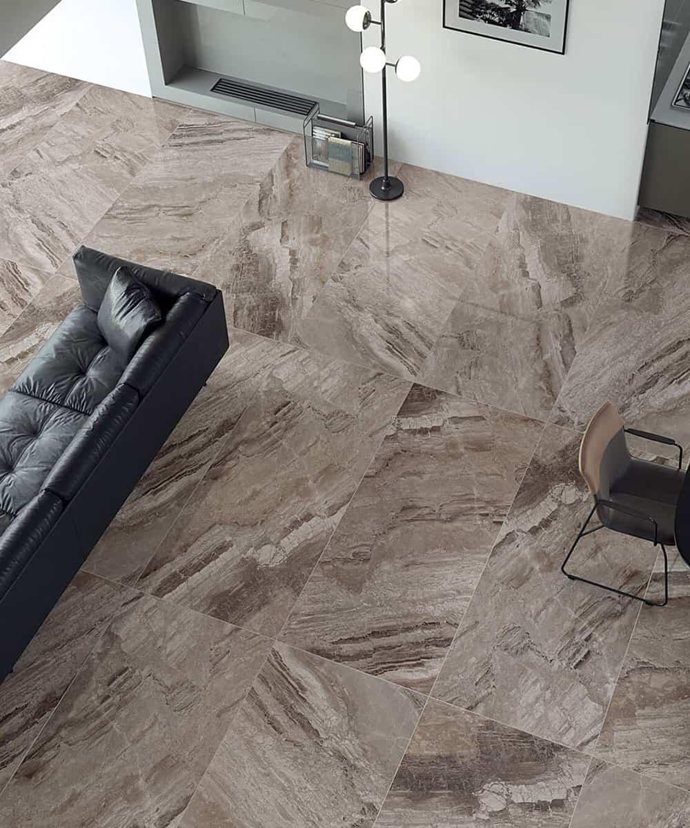 Pavimento Finto Marmo Lucido gres porcellanato effetto marmo - 1* scelta da 12,5€/mq