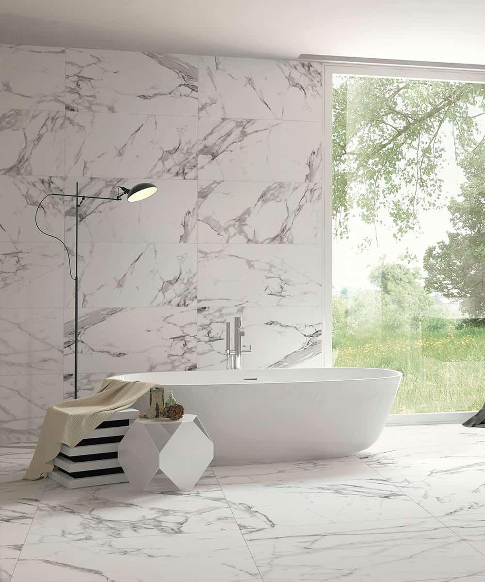 Mattonelle Simil Parquet Prezzi gres porcellanato effetto marmo - 1* scelta da 12,5€/mq